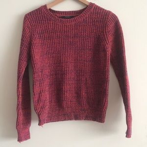 Forever 21 Chunky Knit Cropped Sweater Size S